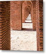 Tortugas Infinite Walkway Metal Print