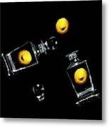Toss Me A Lemon Metal Print by Diana Angstadt