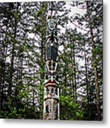 Totem Pole Of Southeast Alaska Metal Print