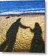 Touch Metal Print by Jo Collins