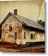 Touch Of Christmas Cheer Metal Print