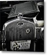 Touch Of Chrome Metal Print by Fred Lassmann