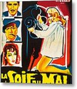Touch Of Evil, Aka La Soif Du Mal, Left Metal Print