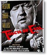Touch Of Evil, Us Poster Art, Top Orson Metal Print