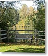 Touch Of Fall In Serenity Metal Print