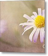 Touch Of Purple Metal Print