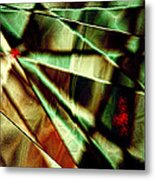 Touch Of Red Metal Print