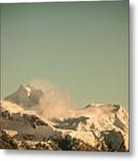 Touch Of Spindrift Metal Print