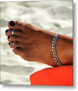 Touch Of Sun Metal Print