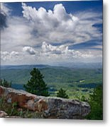 Touch The Clouds  Metal Print