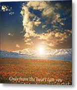 Touch The Sky Metal Print