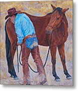 Turn About Is Fair Play  Metal Print