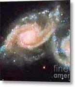 Touching Galaxies Metal Print