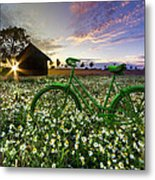Tour De France Metal Print by Debra and Dave Vanderlaan
