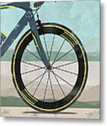 Tour Down Under Bike Race Metal Print by Andy Scullion