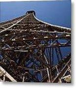Tour Eiffel 7 Metal Print by Art Ferrier