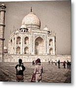 Touring The Taj Metal Print