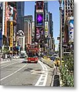 Tourists Attraction Metal Print