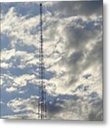 Tower After The Rain Metal Print