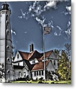 Tower At North Point Metal Print