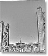 Tower Bridge 3 Sacramento Metal Print