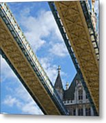 Tower Bridge Metal Print by Christi Kraft