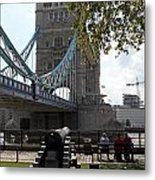Tower Bridge In The City Of London Metal Print