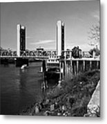 Tower Bridge Sacramento Metal Print