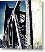 Tower Bridge - Throwback Metal Print