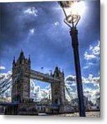 Tower Bridge View Metal Print