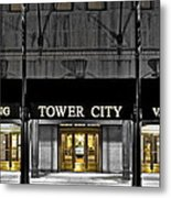 Tower City In Cleveland Ohio Metal Print