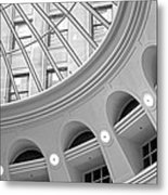 Tower City Rotunda Metal Print
