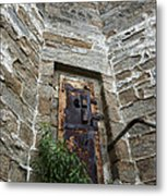 Tower Door Metal Print