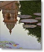 Tower In Lotus Position Metal Print