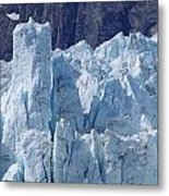 Tower In Margerie Glacier Metal Print