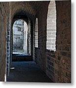 Tower In The Great Wall 695 Metal Print