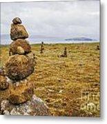 Tower Of Balancing Rocks Metal Print