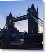Tower Of London At Dawn Metal Print