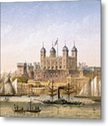 Tower Of London, 1862 Metal Print