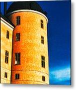 Tower Of Uppsala Castle - Sweden Metal Print by David Hill