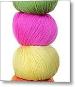 Tower Of Yarn Metal Print