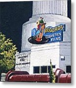 Tower Records Metal Print
