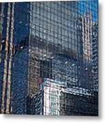 Tower Reflections Metal Print