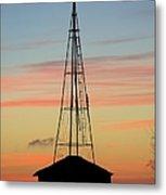 Tower Sunrise Metal Print