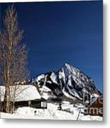 Towering Above Crested Butte Metal Print