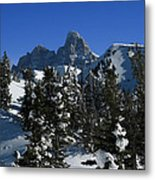 Towering Above Lies The Grand Metal Print