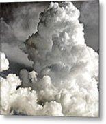 Towering Clouds Metal Print