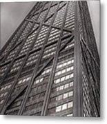 Towering John Handcock Building Metal Print