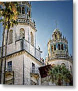 Towers At Hearst Castle - California Metal Print