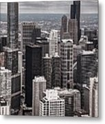 Towers Of Chicago Metal Print
